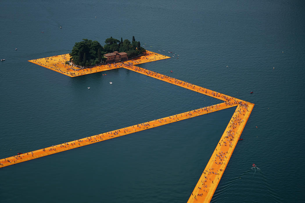 Floating Pier, Christo and Jeanne-Claude