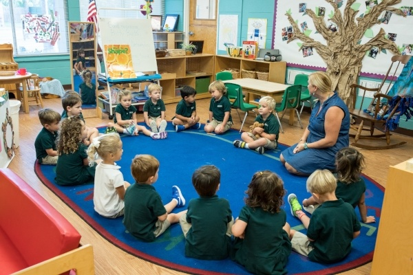 Preschool teachers use the responsive classroom approach