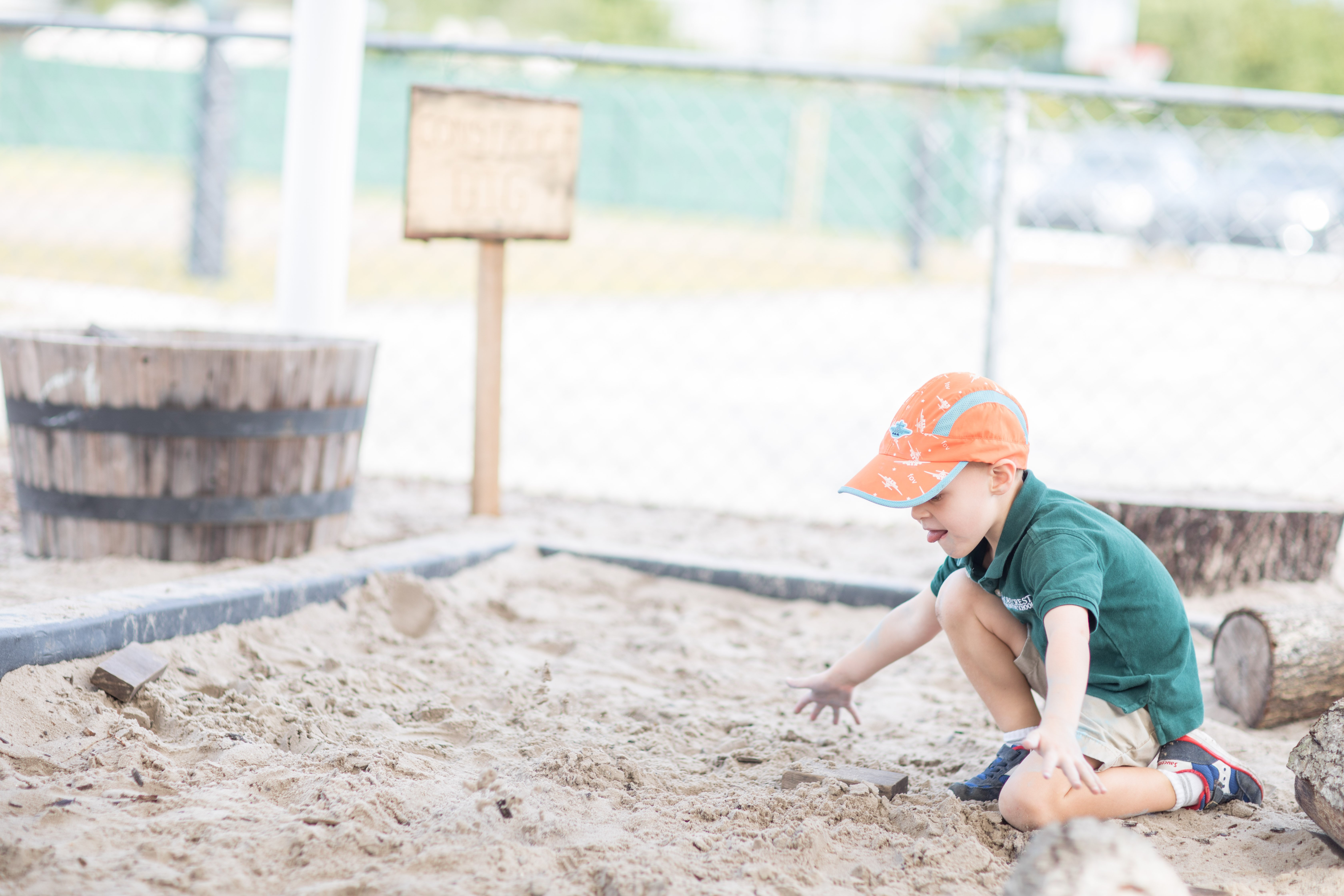 The Experiential School of Tampa Bay promotes outdoor free play