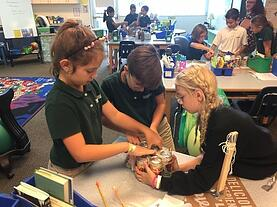 Students collaborating at Shorecrest