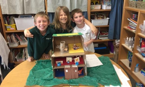Shorecrest second grade project share landmarks