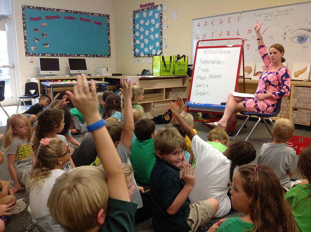 The Responsive Classroom approach helps build community