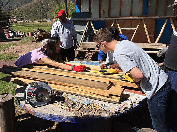 Shorecrest service week 2016 in Peru