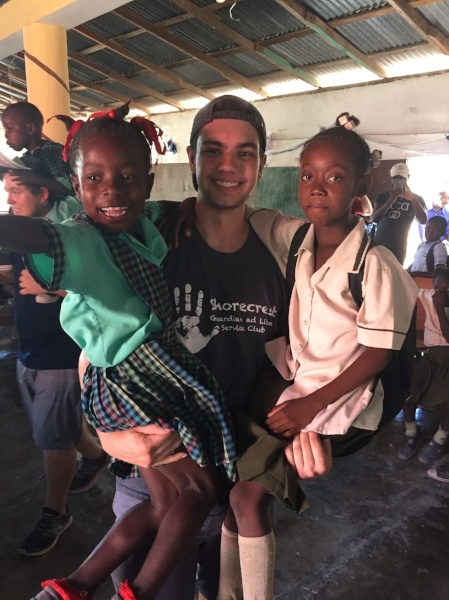 Shorecrest Service Project with Youth Partners in Haiti