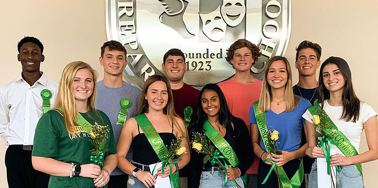 2019 high school Homecoming Court