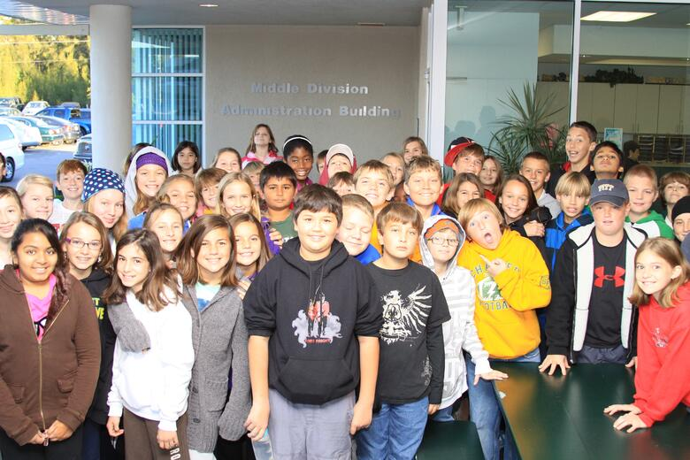 class of 2017 in 6th grade