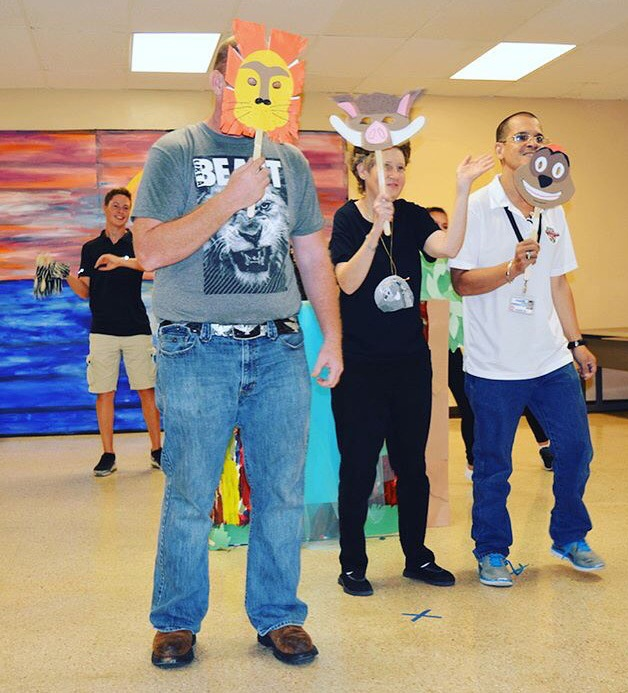Lion King summer theatre camp