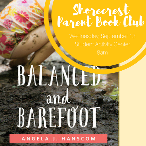 Shorecrest Book Club reads Balanced and Barefoot for September
