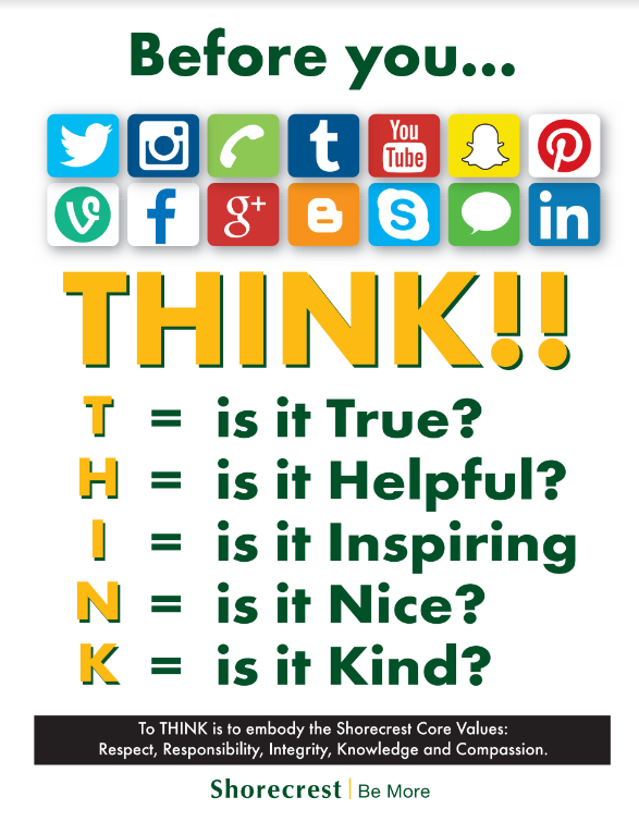 Responsible Use of Technology Poster