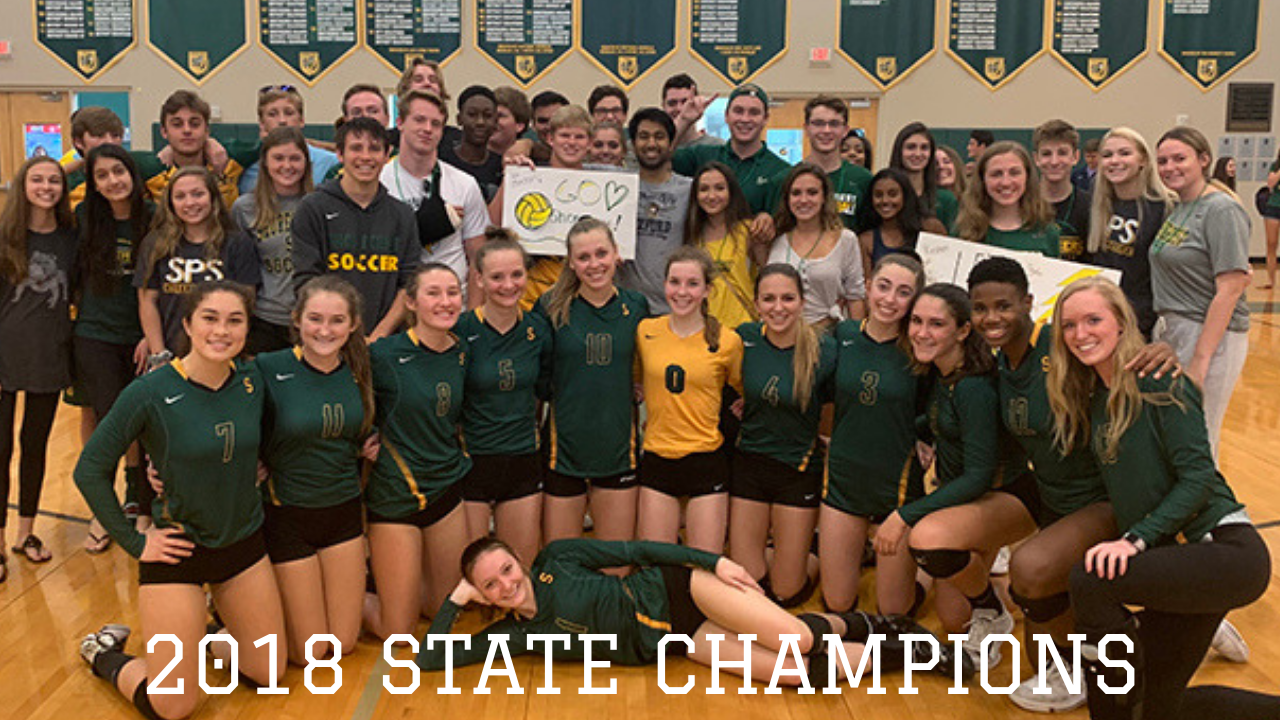 Shorecrest Chargers Volleyball State Champions