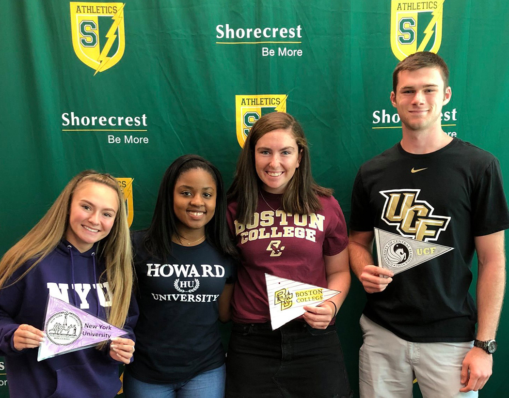 Shorecrest seniors on college decision day