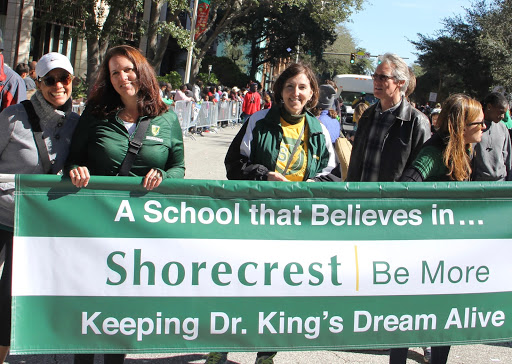 Shorecrest honors Dr. MLK, Jr. by strengthening connection