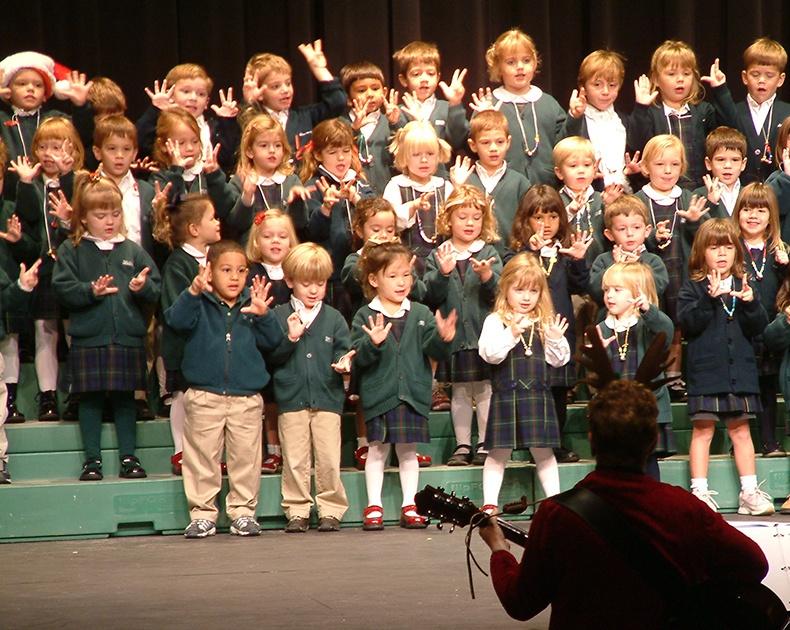shannon Preschool singing