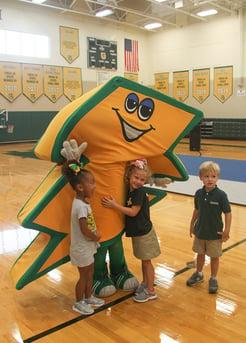 private school mascot